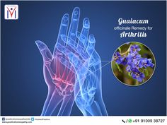 Recent research suggests that a #homeopathic preparation of #Guaiacumofficinale has excellent anti-inflammatory and anti-arthritic properties!
