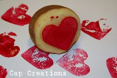 Cap Creations: Potato Stamp - How To