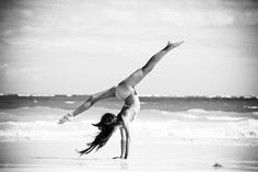 I am kind of obsessed with hand stands