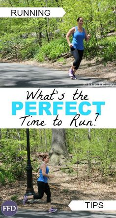 What's the best time to run? This question is one I get asked often as a personal trainer and a runner. The short answer is, whenever you can! but of course, it's a little more complicated than that. Whether you're looking for beginning running tips, or you've been running for years and are just trying to juggle a work, home, family balance, this guide will help you choose your perfect time to run.   running tips   running   fitness   exercise  