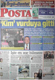 Posta gazetesi 19 aralık 2002