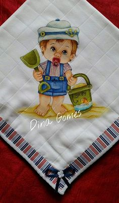 Painting Words, Fabric Painting, Brother Innovis, Church Nursery, Doll Eyes, Textiles, Vintage Images, Baby Quilts, Folk Art
