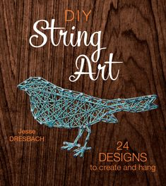 DIY String Art starts with beginner basics and builds to truly impressive string art designs. We have a string art tutorial taken straight form…