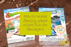 How to make family game night fun for teenagers - something to think about for the oldest in light of new family resolutions.
