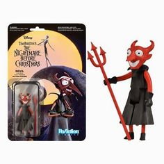 Goth Shopaholic: Funko's New Nightmare Before Christmas ReAction Figures - Devil
