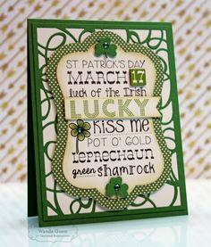 Happy St. Pat's using Graphic Greetings' St. Paddy's Day