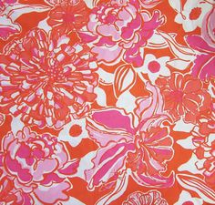 """Lilly Pulitzer fabric """" Tango and Hopper """""""