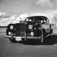 Walker Evans—Time & Life Pictures/Getty ImagesA 1957 Silver Cloud at the Montreal meet of the Rolls-Royce Owners Club in August 1958.