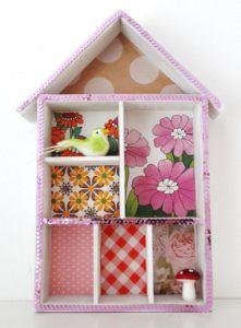 Letterbakhuisje pimpen workshop knutselen met kinderen letterbak pimpen www.knutselkantine.nl