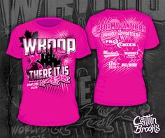 T-Shirt Designs for The Cheerleading Worlds 2016 Competition