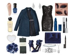 """""""Party Girl"""" by sparks-fly-instantly ❤ liked on Polyvore featuring Simply Vera, Yves Saint Laurent, Alice + Olivia, Christian Dior, Deborah Lippmann, Lipstick Queen, Hermès, Gucci, INC International Concepts and NARS Cosmetics"""