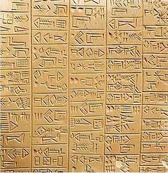 Mesopotamia: Pictograms and Cuneiform. Links from The British Museum.  http://www.mesopotamia.co.uk/writing/home_set.html