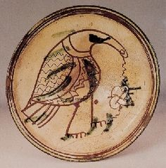 Byzantine ceramic ware with sgraffato decoration  Paphos, Cyprus  Discovery place : Cyprus  Early thirteenth century