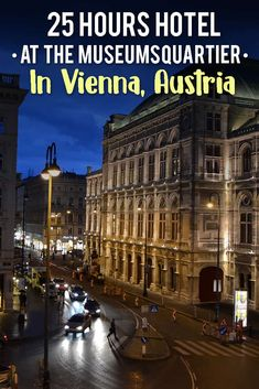 A complete review of our stay at the 25hours hotel in Vienna