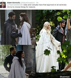 Yes guys who wear black leather have true love with girls who wear white cloaks. I'm getting me a white cloak pronto
