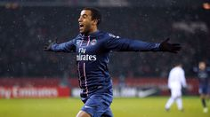 Lucas Moura (Brazil) Paris Saint-Germain.