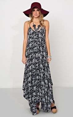 Mia Woven Maxi #Dress