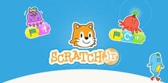 Scratch Jr is a free app from MIT for young kids to learn coding. Besides coding, it can also be used for other subjects like math, language, storytelling. Scratch Programming Language, Coding For Kids, Interactive Stories, Pbs Kids, Emotional Development, Computer Programming, Learn Programming, Learn To Code, Learning