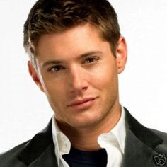 Jensen Ackles from the show Supernatural. Oh, I would throw panties at you. Not mine, of course, but I so would throw my friend's!
