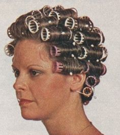 How to do a Basic Wet-Set for Vintage Hair-Do's