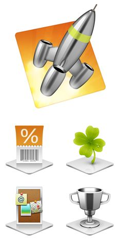 Mighty Apps and Power Promotions. Icon design by the Iconfactory. Ui Design, Icon Design, Design Elements, Ui Buttons, Apps, Icons, Create, Elements Of Design, App