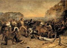 March 6 - The Alamo falls