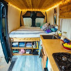 "@sprintervanlife on Instagram: ""If anyone is in the market for a sprinter but doesn't have the time and resources to build there own, this one is seriously one of my favorites on the road. Check out @vanalog_vibes for more info and their Craigslist ad is in their bio. Hurry while they still have it!"""