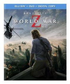 Amazon.com: World War Z (Blu-ray + DVD + Digital Copy): Brad Pitt, Mireille Enos, Daniella Kertesz, Marc Forster: Movies & TV