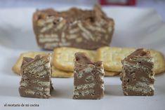 Turrón de praline y galletas Tuc | El recetario de mi cocina