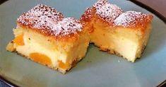 "Maria kocht: ""Turn around"" Käsekuchen / Fordulj meg túróssütemény, Baking Recipes, Cake Recipes, Peach Cake, Hungarian Recipes, Food Cakes, Cakes And More, High Tea, Cake Cookies, No Bake Cake"