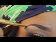 A pinner wrote: Best eyebrow tutorial that I have ever seen. A technique that I could actually do...
