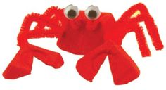 This Loony Lobster animal craft is one cute crustacean. Learn how to make your own Loony Lobster with these illustrated instructions. Lobster Crafts, Crab Crafts, Crafts For Kids, Summer School, Summer Fun, Volunteer Ideas, Party Themes, Party Ideas, Crab Shack