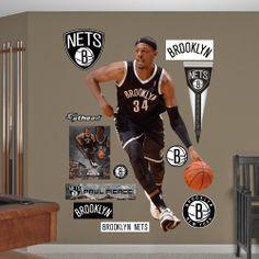 Paul Pierce Brooklyn Nets Brooklyn Nets Nba Nba Basketball Sporty