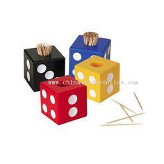 Dice Toothpicks Block
