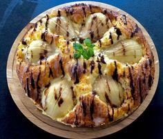 Sernik z gruszkami i czekoladą - Blog z apetytem Quiche, Breakfast, Blog, Morning Coffee, Quiches, Blogging