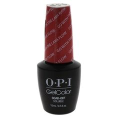 OPI GelColor Soak-Off Gel Lacquer Go With The Lava Flow