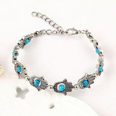 palm style with beads bracelet