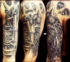 biomechanic tattoo | Tumblr