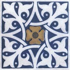 70 Ideas art nouveau pattern design dover publications for 2019 Azulejos Art Nouveau, Art Nouveau Tiles, Tile Art, Mosaic Tiles, Tiles Uk, Tiling, Spanish Pattern, Art Nouveau Pattern, Victorian Tiles
