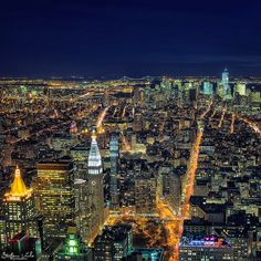 New York: the city of blinding lights | Flickr - Photo Sharing!