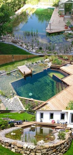 Summer is that great time to have fun by the pool and barbecue area. It wouldn't be summer without a trip to the pool, but those harsh chemicals can be a real turnoff. A smart solution is to build a natural swimming pool. By using gravel stone and clay instead of concrete and mass-manufactured tile, […]...