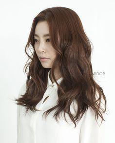 Moving wave perm #long #hair #beauty #cut #chahongardor