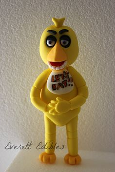 Chica 5 Nights At Freddy's Cake Topper | by Everett Edibles