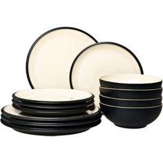 Buy Denby Cook and Dine 12 Piece Box Set - Black at Argos.co.uk - Your Online Shop for Crockery.