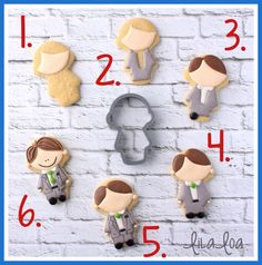 Learn how to make decorated sugar cookies that look like a little man all dressed up in formal attire -- perfect for missionaries, baptisms, weddings and the prom!