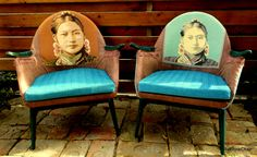 Retro armchairs 1960's by ReThinkChair on Etsy