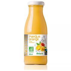 Smoothie Mangue Coco - Vitamont Vegan Food, Vegan Recipes, Orange, Bottle, Drinks, Products, Drinking, Vegan Sos Free, Flask