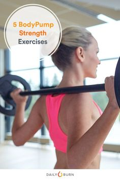 workout 5 BodyPump Strength Training Exercises for Beginners BodyPump筋力トレーニング Strength Training Women, Strength Training Workouts, Training Exercises, Lifting Workouts, Workout Exercises, Gym Workout Plan For Women, Workout Routines For Women, Workout Plans, Fitness Motivation Photo