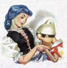 Pinocchio, by Collodi. Magic Illustrations by Libico Maraja. The best Pinocchio ever!