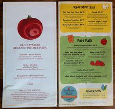 VERY impressed w/ the new For Kids By Kids menu at #Hyatt restaurants. Someone finally got it right. #organic #healthy